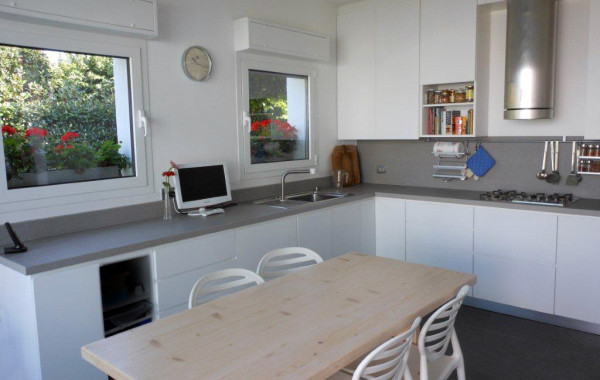 Cucina Laccato Bianco