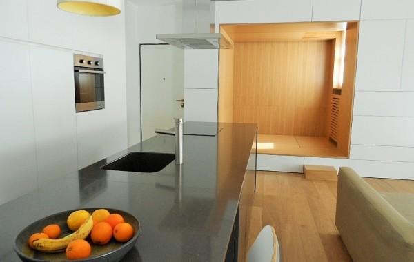 Cucina e area Living