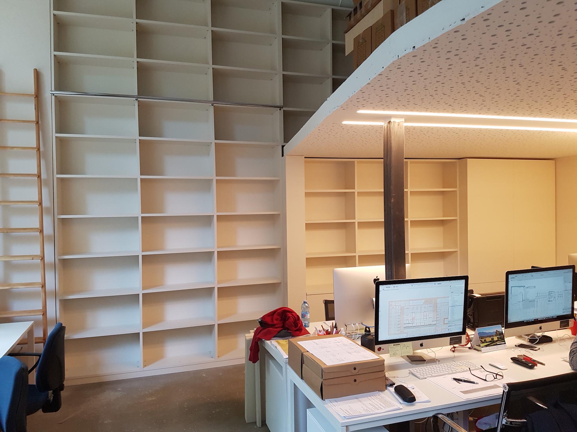 STUDIO ARCHITETTURA LACCATO RAL 9001 B